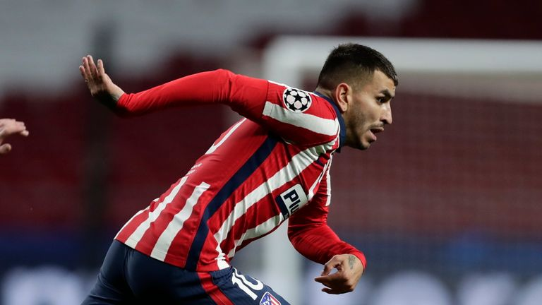 Angel Correa fired Atletico Madrid ahead