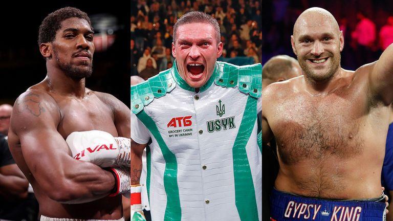 Joshua, Usyk and Fury