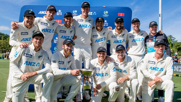 New Zealand top the ICC Test rankings for the first time after a 2-0 series win over Pakistan