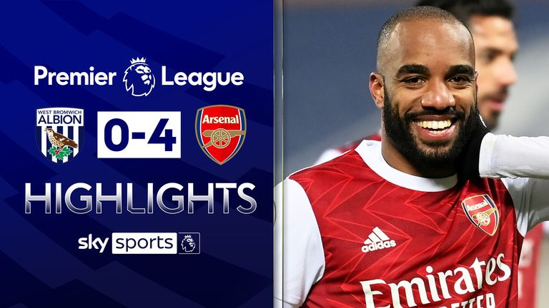 WEST BROM 0-4 ARSENAL