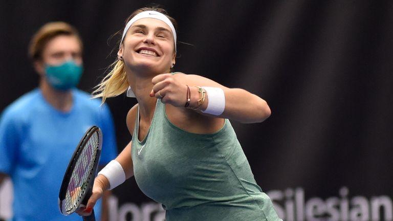 Sabalenka says her biggest dream is to win a Grand Slam