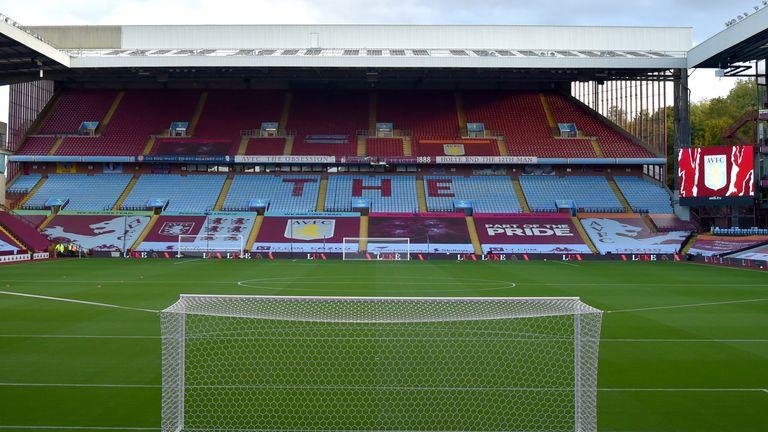 Two consecutive Premier League games have been postponed for Aston Villa due to coronavirus