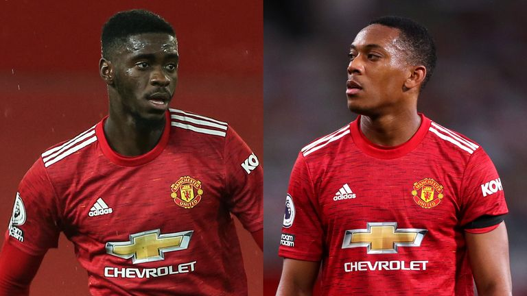 Axel Tuanzebe and Anthony Martial were racially abused on social media after Manchester United's 2-1 defeat to Sheffield United