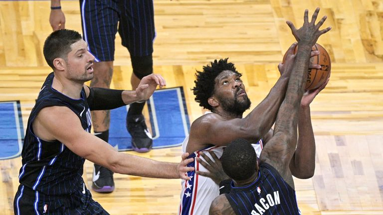 Highlights of the Philadelphia 76ers against the Orlando Magic in Week 2 of the NBA.
