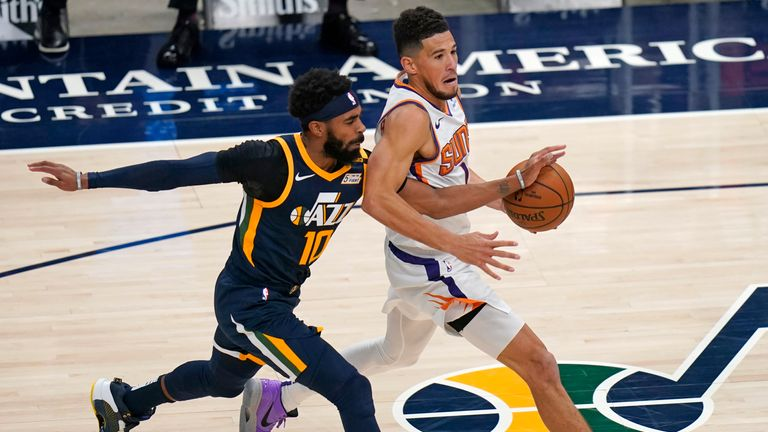 Highlights of the Phoenix Suns against the Utah Jazz in Week 2 of the NBA.
