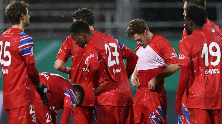 Bayern Munich were beaten by lower league opponents for the first time in 17 years