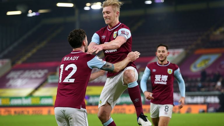 Ben Mee is a big threat from set pieces - can he help Burnley to a result?
