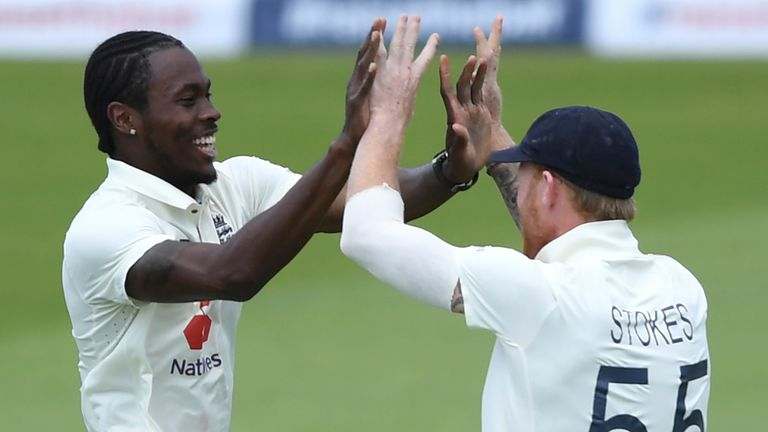 Jofra Archer and Ben Stokes (Associated Press)