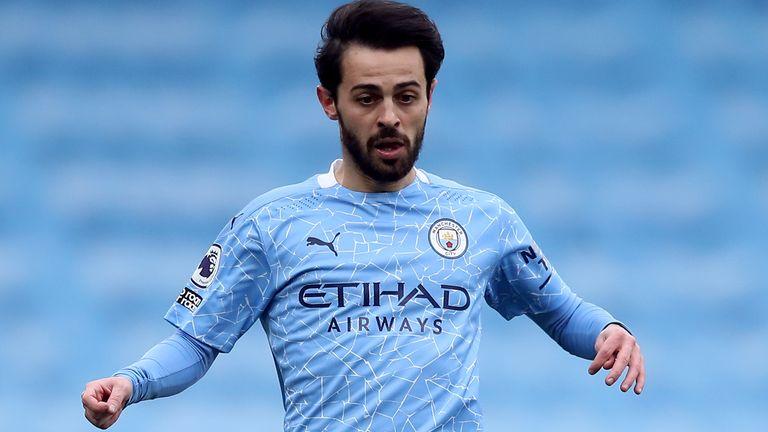 Bernardo Silva Manchester City Home Jersey