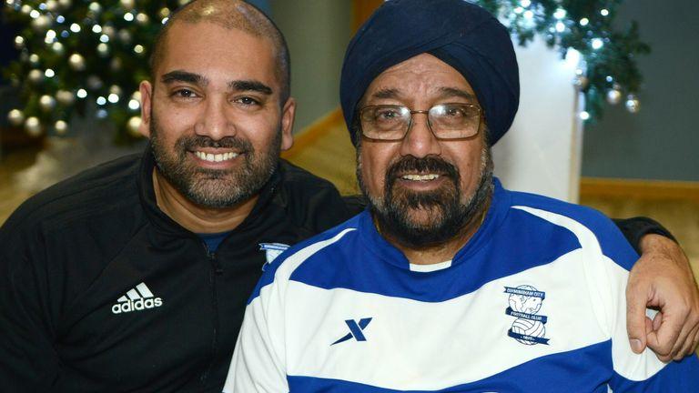 Bik (L) and Micky Singh Blues 4 All (credit: Roy Smiljanic)