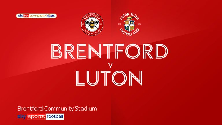 brentford v luton badge