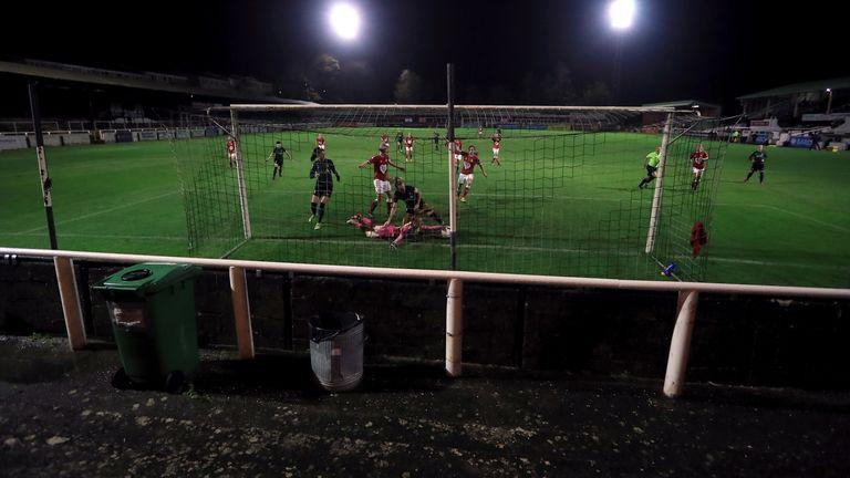Twerton Park was due to host Brighton clash on Sunday