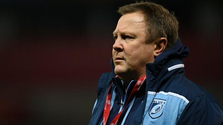 Young returned to Cardiff Blues after John Mulvihill left due to personal reasons
