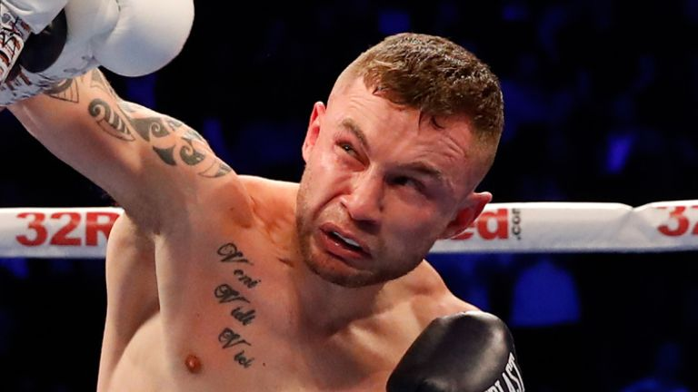 Carl Frampton says nobody will stop him becoming the island of Ireland's first three-weight world champion