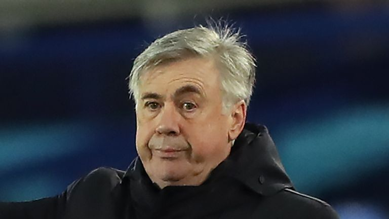 Carlo Ancelotti does not believe Everton are title contenders this season
