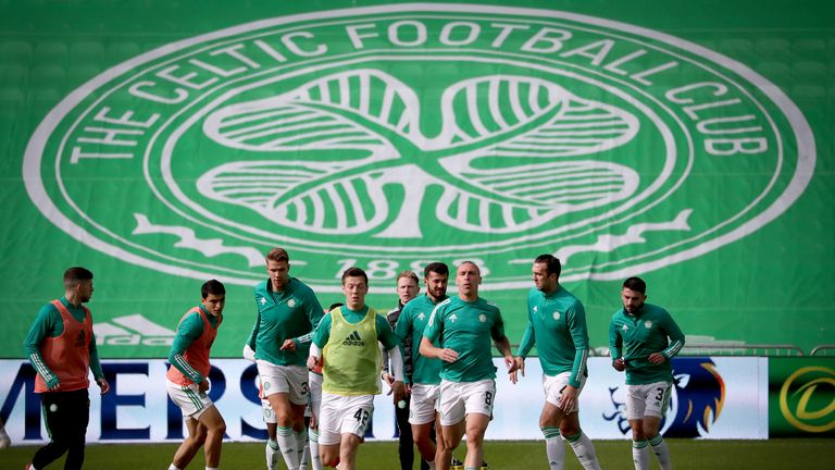 Celtic are set to play Hibernian at Celtic Park on Monday night