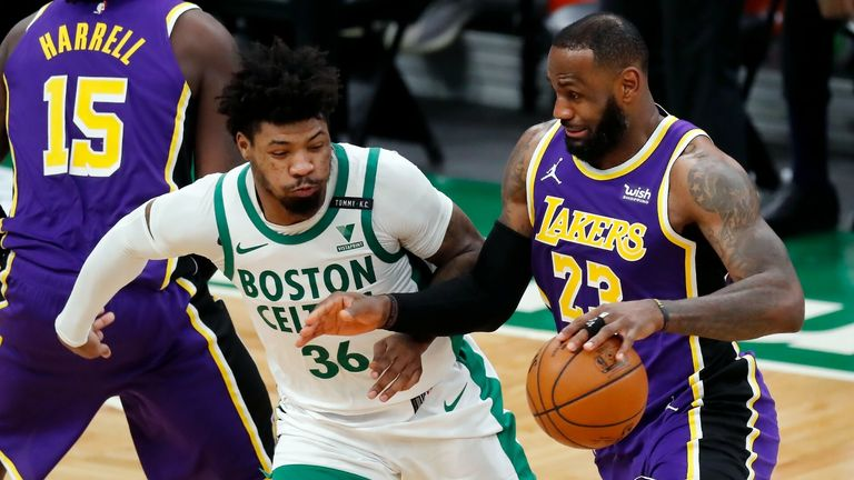 NBA Highlights: Celtic v Lakers