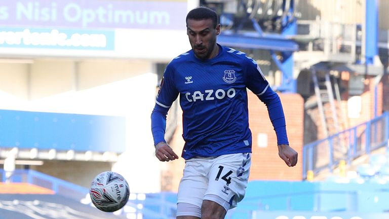 Cenk Tosun puts Everton in front against Rotherham