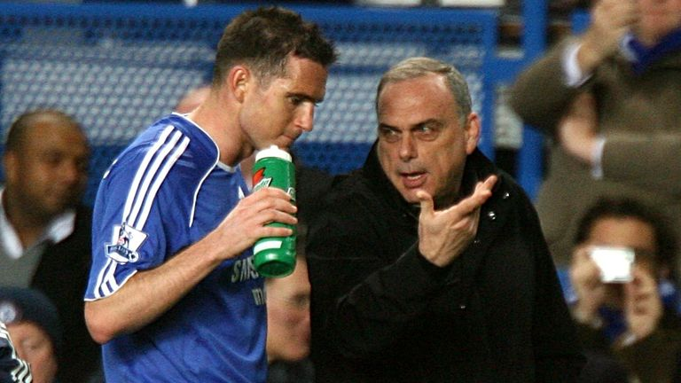 Frank Lampard starred for Avram Grant's side during the latter's spell at the club between 2007 and 2008
