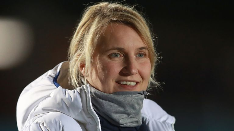 Chelsea Women's boss Emma Hayes says footballers have been put in an 'impossible situation' during the pandemic
