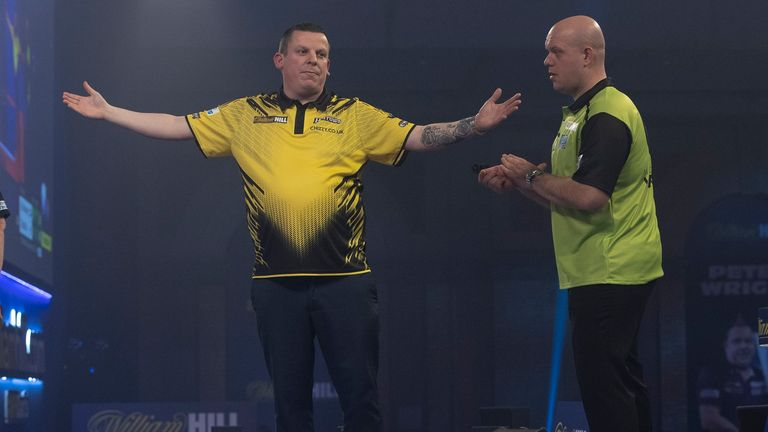MVG suffered quarter-final defeat to Dave Chisnall at the World Championship - and last year missed out on the play-offs for the first time, but Mardle believes he is the most likely champion