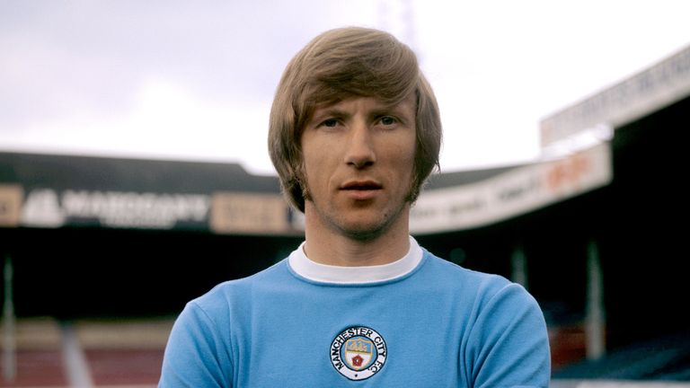 File photo dated 1-08-1972 of Colin Bell, Manchester City.