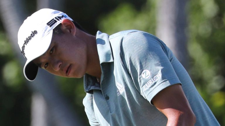 Collin Morikawa plays alongside Sergio Garcia and Tyrrell Hatton over the first two days