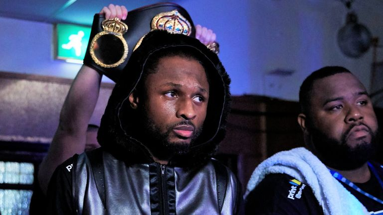 Richards is among the top 10 contenders in the WBA rankings