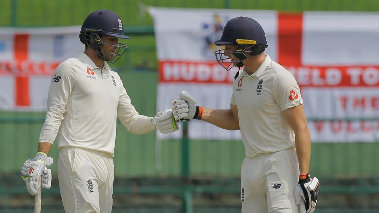 Foakes (L) and Buttler have appeared together before in Test cricket, with Buttler playing purely as a batsman
