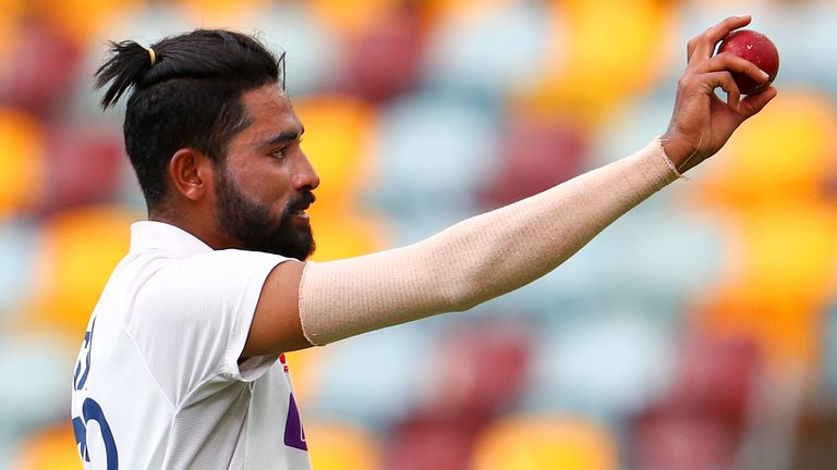 India's Mohammed Siraj takes Test-best 5-73 against Australia in series decider at Brisbane | Cricket News | Sky Sports