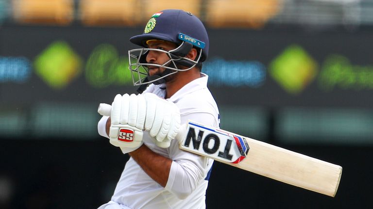 India's Shardul Thakur top-scored with 67 against Australia