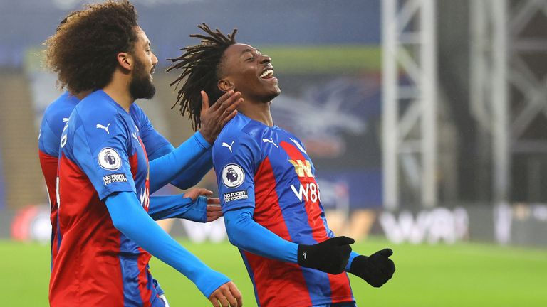 Eberechi Eze scored the winner in Crystal Palace's 1-0 win over Wolves