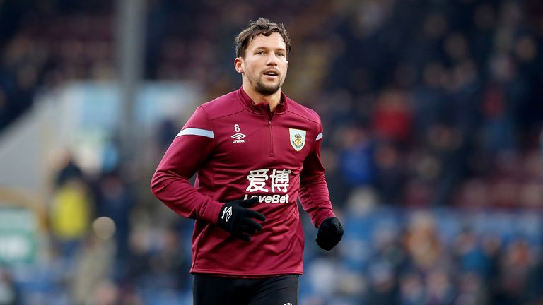 Burnley's Danny Drinkwater before the Premier League match at Turf Moor, Burnley. PA Photo. Picture date: Saturday November 30, 2019.