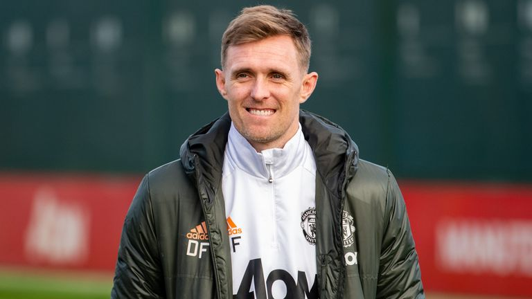 Darren Fletcher had been coaching Manchester United's U16 side since October and will now join the first-team staff on a full-time basis