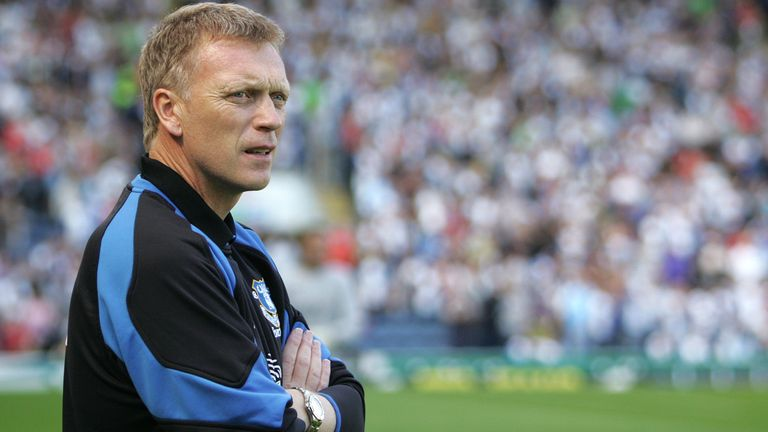 David Moyes as Everton manager (Downloaded from AP)