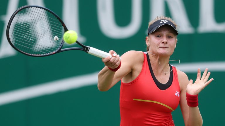 Yastremska denies using performance-enhancing drugs