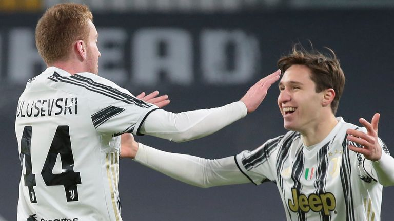 Dejan Kulusevski and Federico Chiesa both scored in Juventus' win
