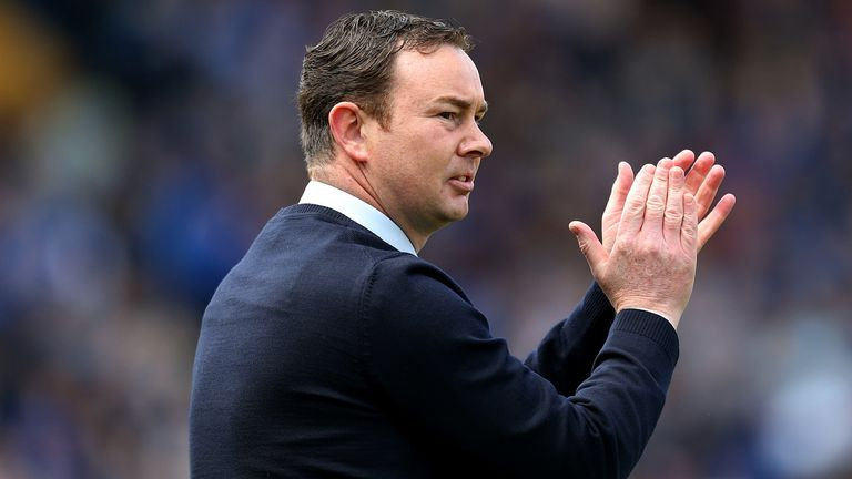 The 45-year-old has previously managed Ross County and Plymouth