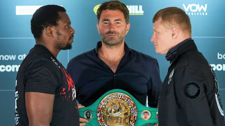 Whyte is preparing for his rematch with Alexander Povetkin