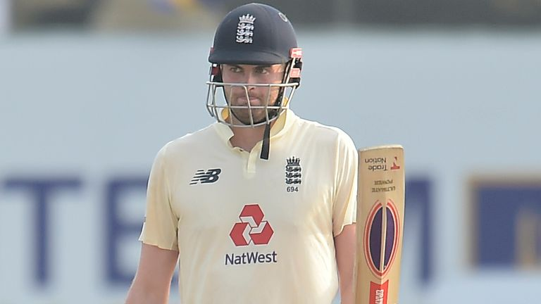 Dom Sibley was relieved to score an unbeaten fifty in England's second Test win over Sri Lanka, admitting he was 'in a pretty dark place' beforehand.