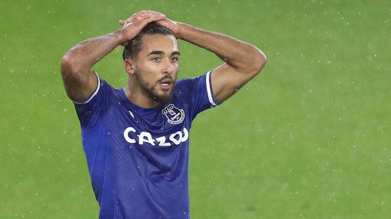 Everton's Dominic Calvert-Lewin Pic: AP