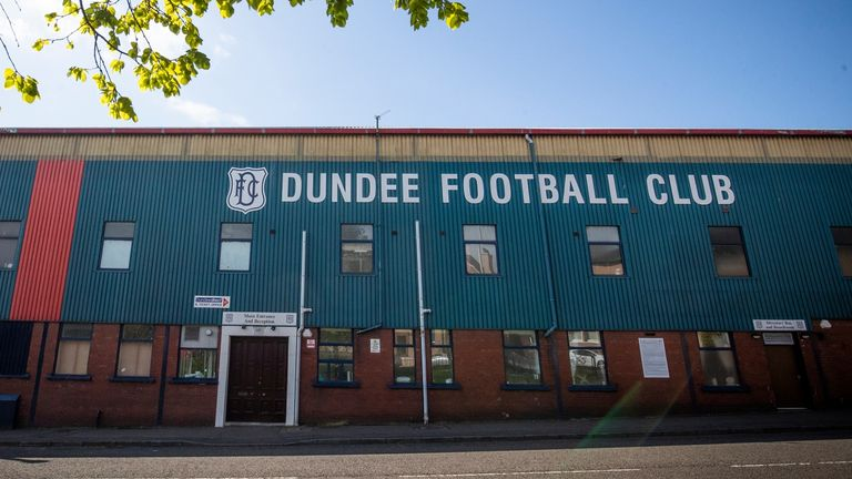 Dundee say the incidents occurred after the games against Bonnyrigg Rose and Hearts