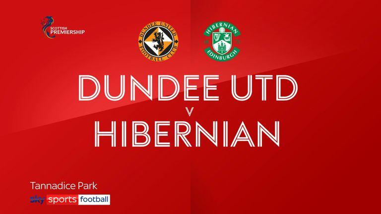Dundee United v Hibernian