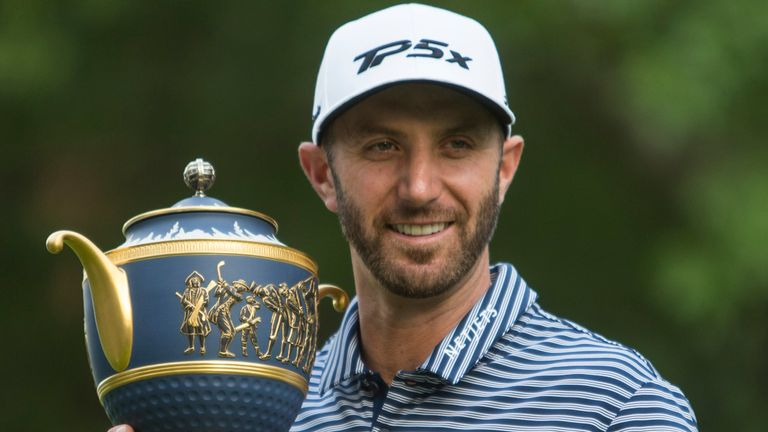 Dustin Johnson is a two-time winner of the WGC-Mexico Championship