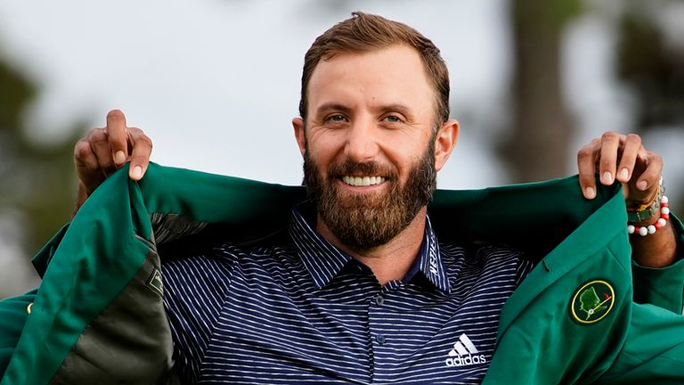 Dustin Johnson registered a five-shot win in last year's contest