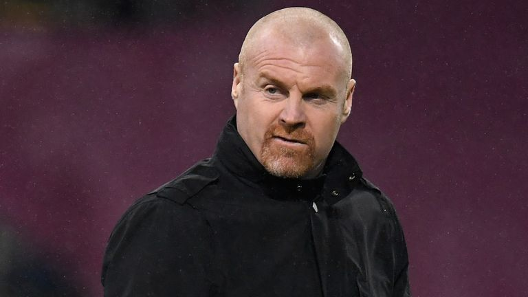 Sean Dyche is hopeful to have players returning who were self-isolating