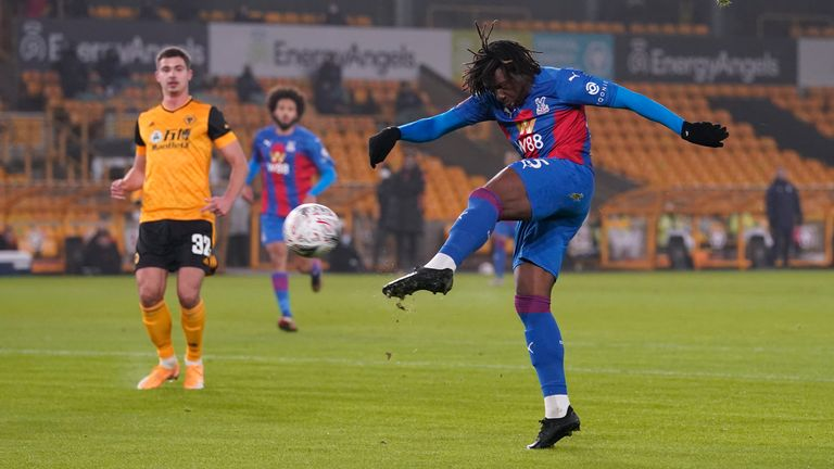 Eberechi Eze wastes an opportunity for Crystal Palace - AP photo