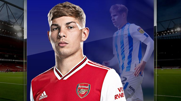Emile Smith Rowe has returned to Arsenal from his loan spell at Huddersfield Town and impressed