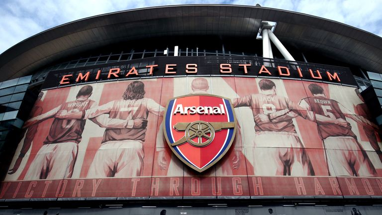 Arsenal will receive a Bank of England loan of £120m to help cover losses caused by COVID-19