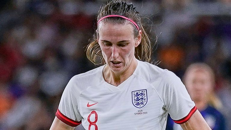 Jill Scott is close to making it 150 caps for the Lionesses